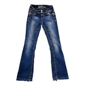 Wallflower Jeans Women's 3 26x29 Blue Boot Cut Mid